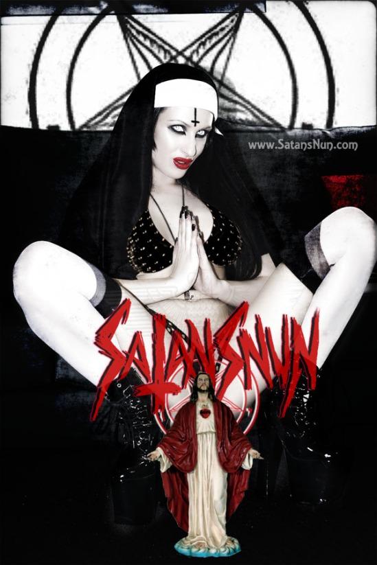 SatansNun Worship Me Cunt